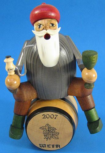 Wine Dealer Barrel Smoker