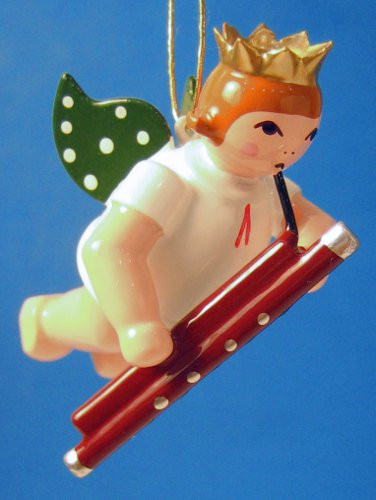 Bassoon Angel Christmas Ornament