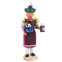 Bavarian Waitress Incense Smoker