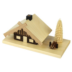 Mini Chalet Incense German Smoker