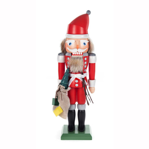 German Nutcracker Santa with Sack