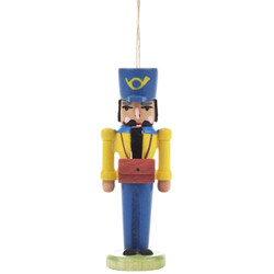 German Postman Nutcracker Yellow ORD074X026X2FY