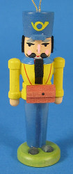German Postman Nutcracker Yellow