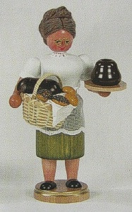Gingerbread Lady German Smoker