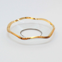 Candle Drip Catcher 20x50mm Gold