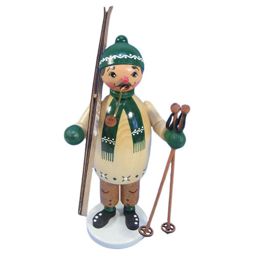 Green Skier German Smoker