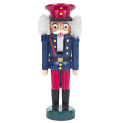 Mini Railroad Conductor German Nutcracker