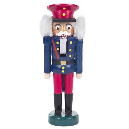 Mini Railroad Conductor German Nutcracker