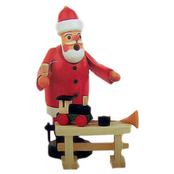 Mini Santa Toys German Smoker