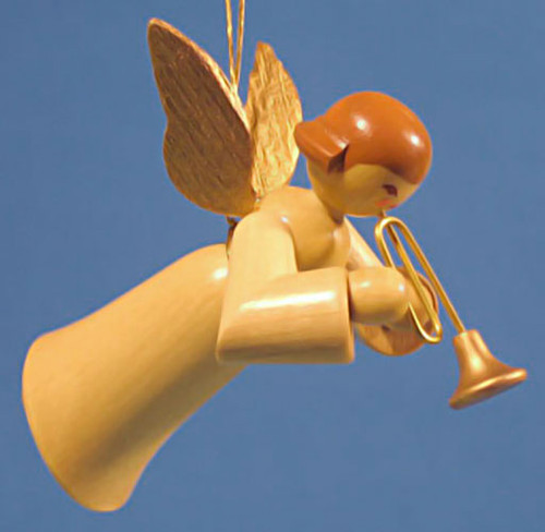 Ornament Angel Playing Trumpet