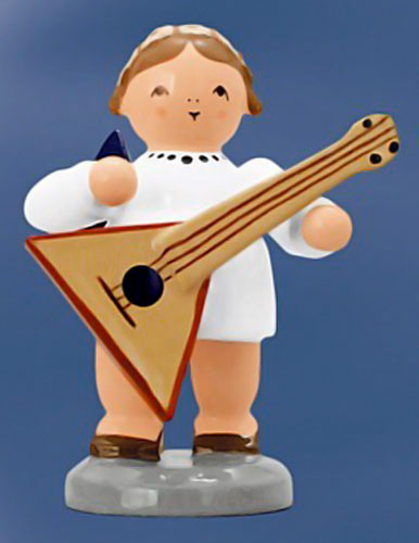Angel Balalaika Figurine