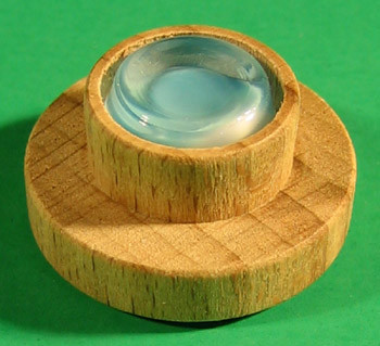 Pyramid Disk Glass Bearing