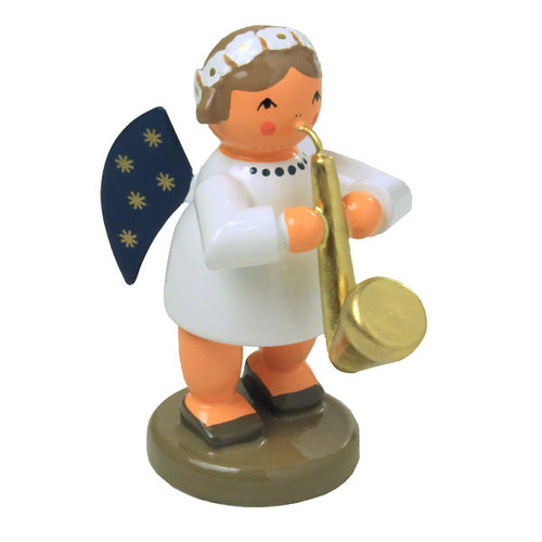Angel Saxophone German Figurine FGK756X40