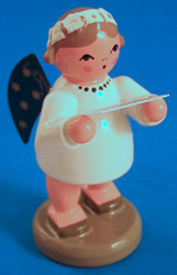 Angel Figurine Singing Sheet Music