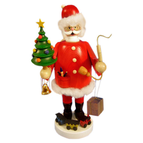 Santa Gift Christmas Tree German Smoker