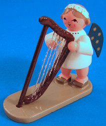 Angel Figurine Harp