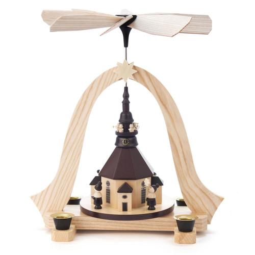 Seiffen Church Carolers Pyramid PYD085X211