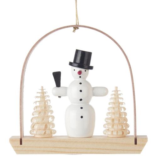 Snowman Arch German Ornament ORD199X251X8