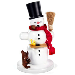 Snowman Bird Squirrel German Smoker