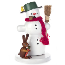 Snowman Rabbit Friend German Smoker
