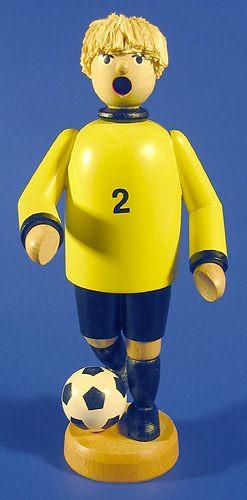 Soccer Player Yellow German Smoker