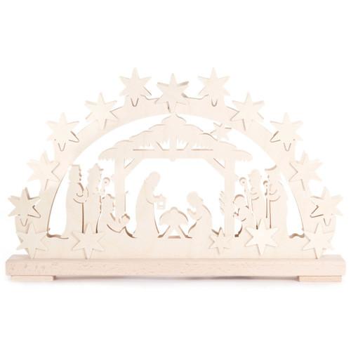 Star Nativity Schwibbogen Arch