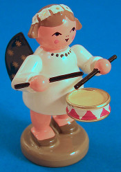 Angel Figurine Drum