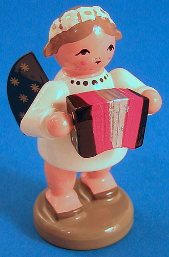 Angel Figurine Accordian