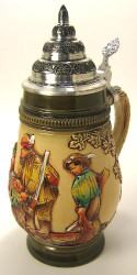 Fox Hunt German Beer Stein