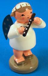 Angel Flute Flutist Figurine
