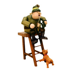 Sitting Hunter Lookout Post Smoker