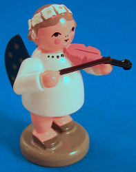 Angel Figurine Violin