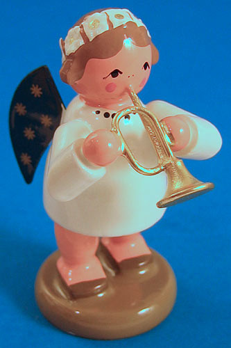Angel Figurine Trumpet