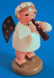Angel Figurine Clarinet
