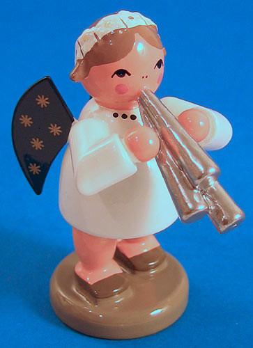 Angel Figurine Shawm Schalmel