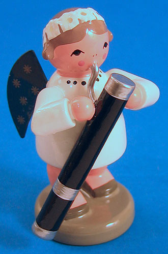 Angel Figurine Bassoon