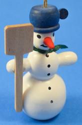 Snowman Holding Shovel ORR133X43