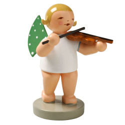 Wendt Kuhn Blonde Angel Violin Figurine FGW650X2