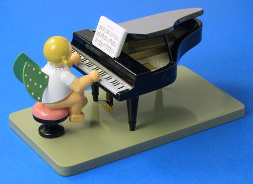 Angel Grand Piano Figurine Wendt Kuhn Open FGW650X23N