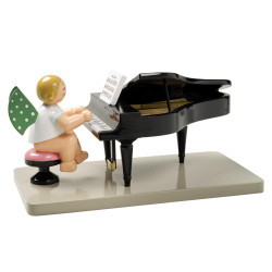 WENDT & KÜHN Angel Grand Piano Figurine Open