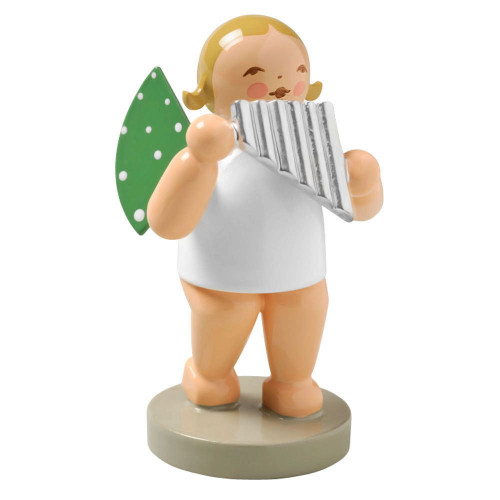Blonde Angel Pan Flute Figurine Wendt Kuhn FGW650X27