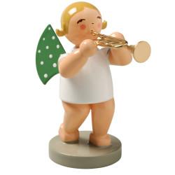 Blonde Angel Trumpet Figurine Wendt Kuhn FGW650X36