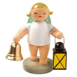 Angel Bell Lantern Figurine Wendt Kuhn FGW650X37