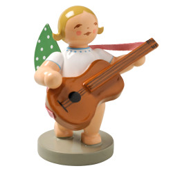 Blonde Angel Guitar Figurine Wendt Kuhn FGW650X38