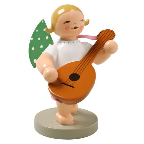Blonde Angel Lute Figurine Wendt Kuhn FGW650X39