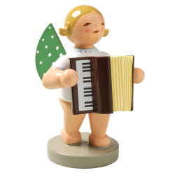 Blonde Angel Accordion Figurine Wendt Kuhn FGW650X48