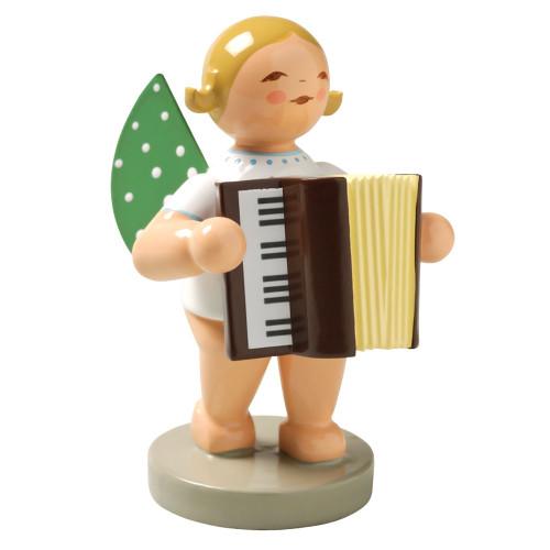 Blonde Angel Accordion Figurine Wendt Kuhn FGW650X48