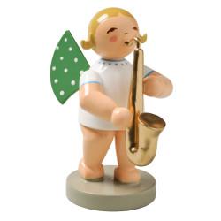 Blonde Angel Saxophone Figurine Wendt Kuhn FGW650X54