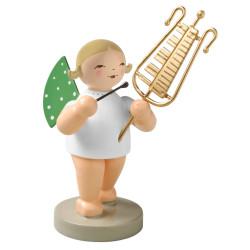 Blonde Angel Bell Lyre Figurine Wendt Kuhn FGW650X58