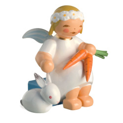 Goodwill Snowflake Angel Feeding Rabbit Wendt Kuhn